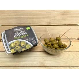 Olive Verdi Denocciolate Biologiche