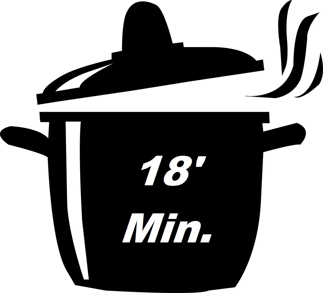 Icona Cottura Risotto 18 Minuti