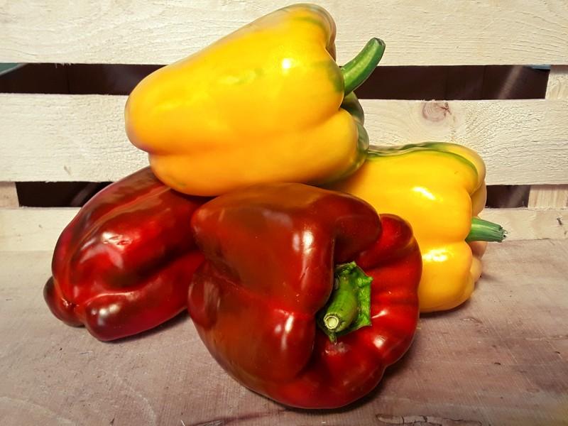 Peperoni Cassetta Piccola di Verdura